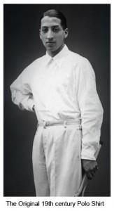 Traditional polo shirt